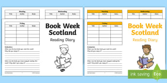 Book Week Scotland Reading Diary - Reading, 27th November, Scottish Book Trust, Reading celebration, Book Party