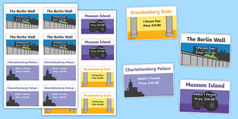 Berlin Tourist Attraction Role Play Tickets - role-play, berlin