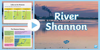 River Shannon PowerPoint-Irish