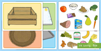 Visual Food Group Sorting Activity Mat - Food Group Sorting Activity - food, food groups, matching cards, sorting cards, cards, flashcards, g