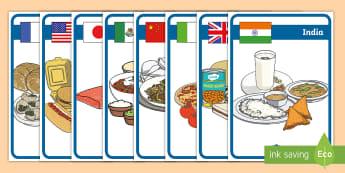 Specialități culinare din lume Planșe - sănătate, rutina zilnica, grupele alimentare, sunt sanatos, alimentatia sanatoasa, viața de zi cu