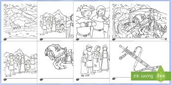Hojas de colorear: San Jorge y el dragón - San Jorge, sant jordi, leyenda, leyendas, cuentos, cuentos tradicionales, Saint george spanish, jorg