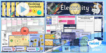 Science: Electricity Year 4 Unit Pack