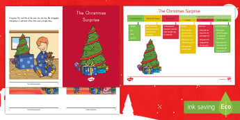 The Christmas Surprise Guided Reader - Christmas, Holidays, Guided Reader, Predicting, Small group Reading