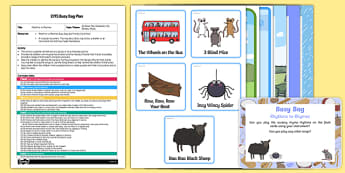 EYFS Rhythms to Rhymes Busy Bag Plan and Resource Pack