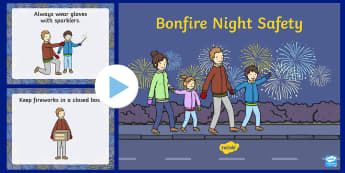 Staying Safe on Bonfire Night PowerPoint