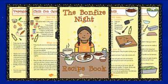 Bonfire Night Recipe Booklet - Bonfire, Night, Food, Recipe, Cook