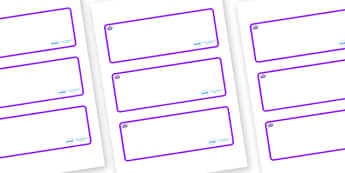 Octopus Themed Editable Drawer-Peg-Name Labels (Blank) - Themed Classroom Label Templates, Resource Labels, Name Labels, Editable Labels, Drawer Labels, Coat Peg Labels, Peg Label, KS1 Labels, Foundation Labels, Foundation Stage Labels, Teaching Labe