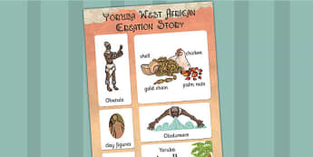 Kingdom of Benin: Yoruba Creation Story Vocabulary Mat