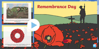 Remembrance Day Information PowerPoint - remembrance day, info, diwrnod y cofio,