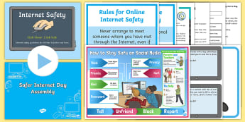 CFE Second Level Safer Internet Day Resource Pack - safety, online, website, chatroom, surfing, e-safety, e-safeguarding, computer literacy,