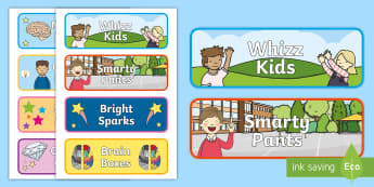 Themed Groups Editable Drawer Peg Name Labels - Themed Groups Editable Drawer Peg Name Labels - displays, tables, sign, visual aid, pge, naem, label