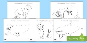 Arctic Animals Dot to Dot Worksheet / Activity Sheets US English/Spanish (Latin) - The Arctic, Polar Regions, north pole, south pole, explorers, worksheet, worksheet / activity sheet, spanish, es
