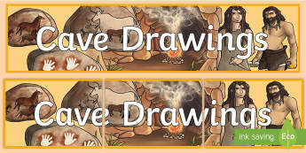 Cave Art Banner - Cave Art  Banner, stone age, history, lks2, ks2, stone age to iron age