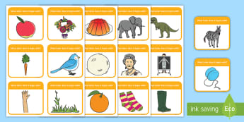 Alphabet Activity Cards Name the Image - alphabet, a-z, literacy