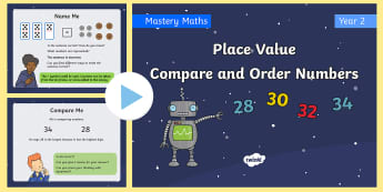 Number and place value primary resources new compare greater than less than and order numbers place value maths mastery powerpoint fandeluxe Gallery