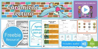 Pachet cu materiale didactice gratuite - Mostră - Romania, Twinkl, Teaching Pack, Free, Resources