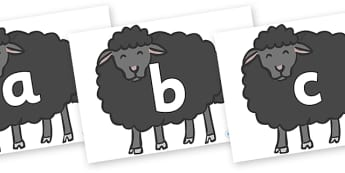Phoneme Set on Baa Baa Black Sheep - Phoneme set, phonemes, phoneme, Letters and Sounds, DfES, display, Phase 1, Phase 2, Phase 3, Phase 5, Foundation, Literacy