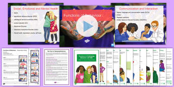 Functions of Behaviour Inset Training Resource Pack - Behaviour, Functions, Inset, Training, Support