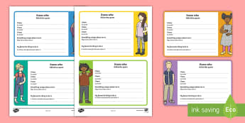 Transition Guess Who Activity English/Portuguese - transition, guess who, guess who activity, transition guess who, transition activity, guess, who, cl