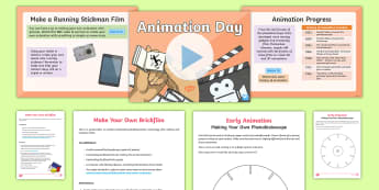 UKS2 Animation Day PowerPoint - the big draw, big draw 2017, art, wallace and gromit, Living Lines, stop motion, cinema, film