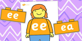Lego Man ee Sound Family Cut Outs - toys, sounds