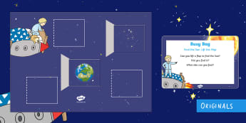 Back to Earth with a Bump Find the Sun Lift the Flap Busy Bag Prompt Card and Resource Pack - Hal,Space,Sun,Back-to-Earth-with-a-bump,Twinkl Original, earth