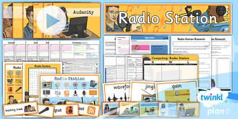Computing: Radio Station Year 5 Unit Pack