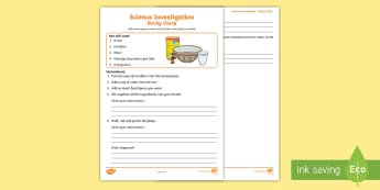 Sticky Gloop Science Experiment and Prompt Card Pack - NI, Science Week, 10/03/17, gloop, slime, cornflour, corn starch, experiment, investigation, non-New
