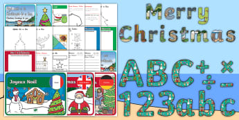 The Great New Zealand Newest Christmas Resource Pack - Christmas, Xmas, 2017, New Year, Term 4, End of Year, ECE