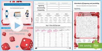 Year 4 Term 3B Week 5 Spelling Pack - y4, spelling test, look say cover write check, spelling rules, activities