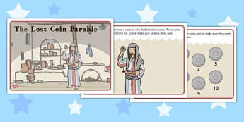 The Lost Coin Parable - lost, coin, parable, story, jesus christ
