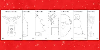Christmas Dot to Dots up to 20 - christmas, dot to dot, game, activity, festival, celebration, holiday