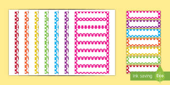 Editable Multicolored Polka Dot Cubby Labels, Peg, Name Labels - peg, labels, drawer, editable, multicolored, customize