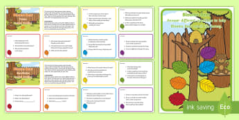 Bloom's Taxonomy - Early Level Reading Challenge Cards  - CfE Blooms Taxonomy, Early, non-fiction, fiction, reading, guided, reading game, questions, high ord