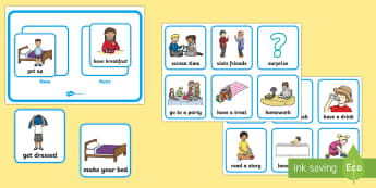Parents' Now and Next Resource Pack Poster and Cards - morning, routine, organisation, help, advice, support, behaviour,