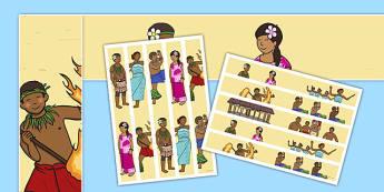 Samoan Language Week Display Borders