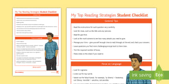 My Spanish Reading Strategies Top Tips - study, help, support, revision, advice