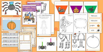 Halloween Resource Pack - autumn, spooky, topic, fun, ideas, information, planning, resources, work, sheets, activities, early years, eyfs, ks1, ks2, key stage