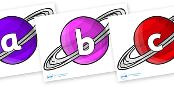 Phoneme Set on Planets - Phoneme set, phonemes, phoneme, Letters and Sounds, DfES, display, Phase 1, Phase 2, Phase 3, Phase 5, Foundation, Literacy