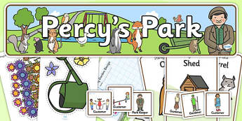 Role Play Pack to Support Teaching on Percy the Park Keeper - percy the park keeper, role play, role play pack, resource pack, percy park keeper role play, percy the park keeper