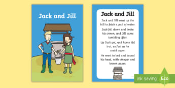 Jack and Jill Nursery Rhyme IKEA Tolsby Frame - baby signing, baby sign language, communicate with baby, pre verbal baby, tiny talk, sing and sign,