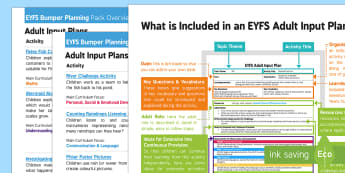 EYFS Water Bumper Planning Pack Overview - EYFS, Early Years Planning, Water, water cycle, rain, rivers, sea, oceans, weather, puddles, mermaid