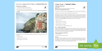 Home, Town, Neighbourhood and Region 2 Foundation Tier Photo Card Activity - Spanish, speaking, practice, oral, photo, card, picture, illustration, practice, revision, skills,