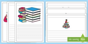 Recenzie de carte Cadre de scris - Cartea, scriere, recenzie de carte, română, compunere, ,Romanian