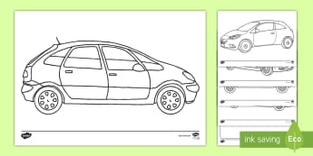 Design a Car to Send to Space Activity Sheet - elton musk, the falcon, rocket, car, space exploration, worksheet
