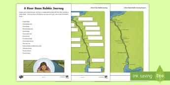 A River Bann Bubble Journey Map - Down the Bann in a Bubble, River Bann, The Bar Mouth, Seatons Marina, Coleraine Marina, Railway brid
