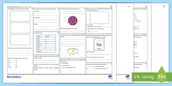 OCR Gateway Chemistry Unit C1: Atomic Structure Higher Revision Activity Mat - Atomic, structure, states of matter, Isotope, proton, neutron, electron