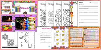 Diwali Teaching Resource Pack - ESL Diwali Resources