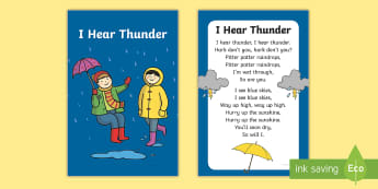 I Hear Thunder Nursery Rhyme IKEA Tolsby Frame - baby signing, baby sign language, communicate with baby, pre verbal baby, tiny talk, sing and sign,